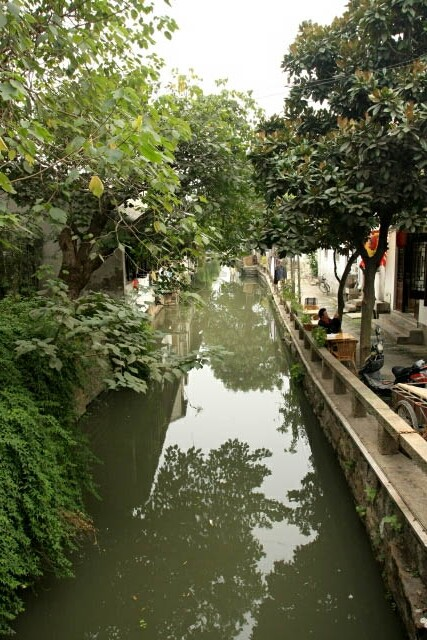 One of the Many Waterways in Suzhou's Old Town