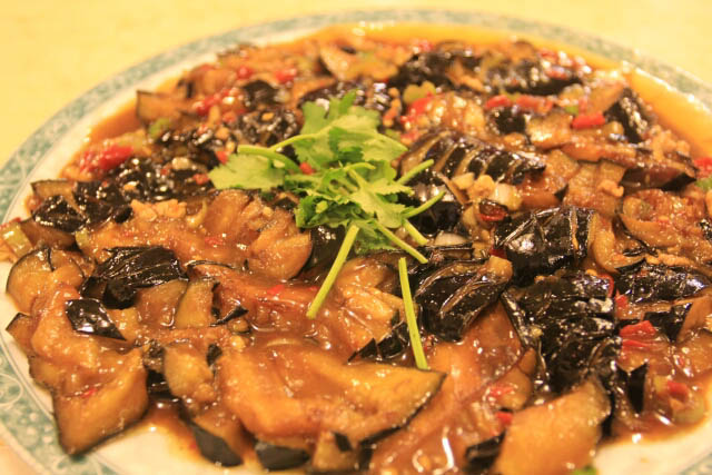 Eggplant Dish in Ma Family Restaurant 马家馆