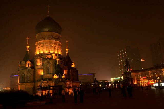Cathedral of Saint Sophia 索菲亚大教堂 Stands Proud in Sophia Square