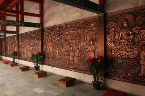 IMG 0190 500x333 Inside the Halls of Jile Temple 极乐寺