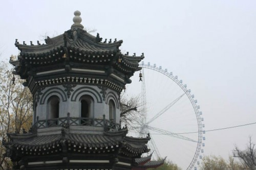 IMG 0240 500x333 Pagodas and Ferris Wheels in Jile Temple 极乐寺