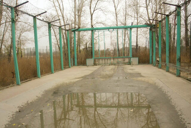 Through the First Gate of the Siberian Tiger Park 东北虎林园