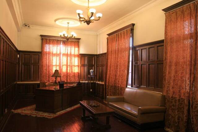 An Office at the Puppet Emperor's Palace 伪满洲皇宫
