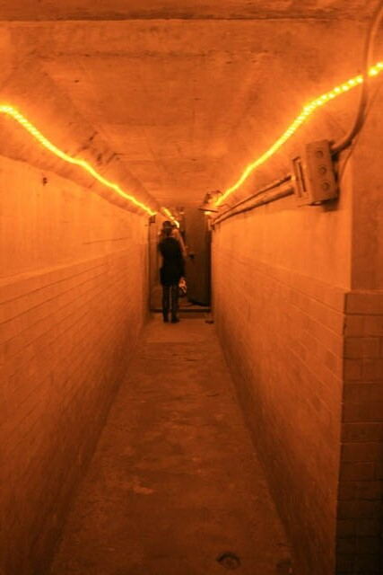 Tunnel Inside the Bomb Shelter at the Puppet Emperor's Palace 伪满洲皇宫