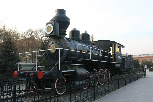 Massive Locomotive at the Puppet Emperor's Palace 伪满洲皇宫