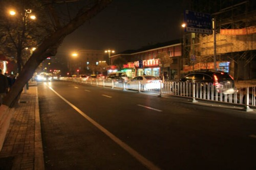 IMG 0723 500x333 Streets of Changchun at Night