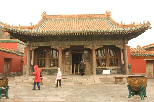Yihe Hall 颐和殿 at the Imperial Palace in Shenyang 沈阳故宫