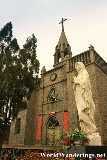 Catholic Church in Pingyao Ancient Town 平遥古城