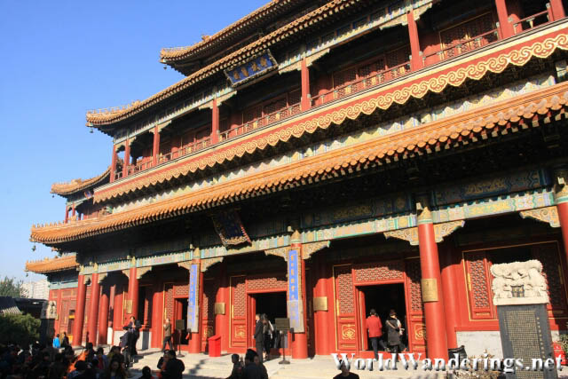 Three Storey High Pavillion of Ten Thousand Happinesses 万福阁