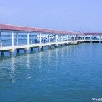 Clear Waters of Along the Shahbandar Jetty