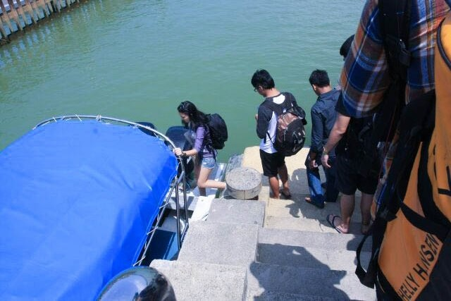 Queueing Up to Get on our Speedboat