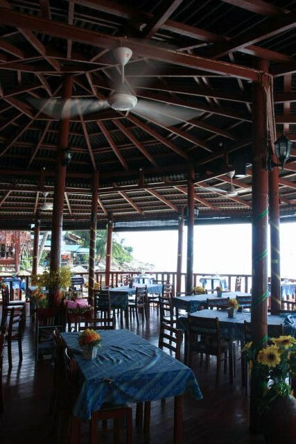 Restaurant Area of the Senja Bay Resort at Perhentian Kecil