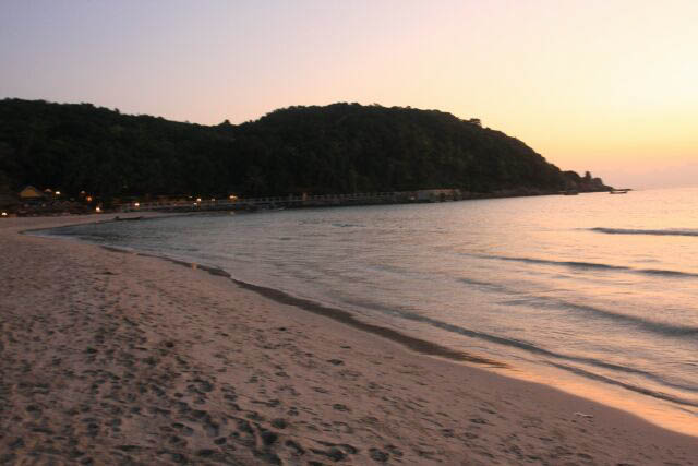 Early Morning at Long Beach in Perhentian Kecil