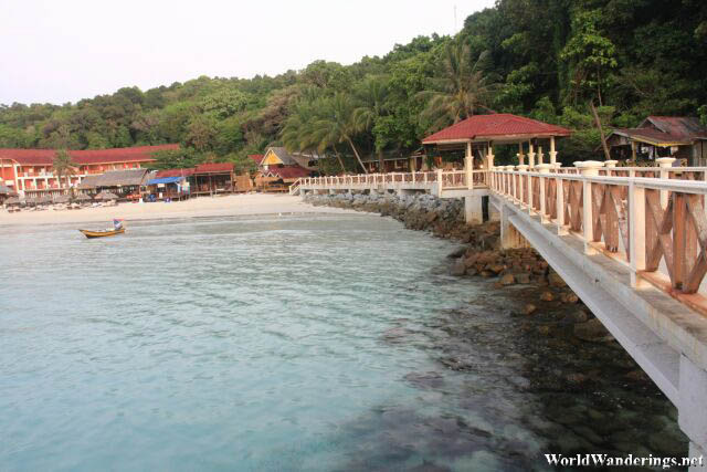 A Look Back at Long Beach in Perhentian Kecil