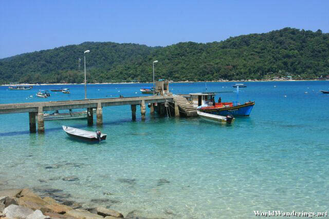 Small Passenger Jetty for the Residents of the Fishing Village at Perhentian Kecil