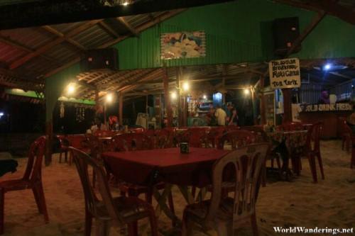 Dinner Under the Stars at Perhentian Kecil