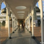 Walkway to the Crystal Mosque