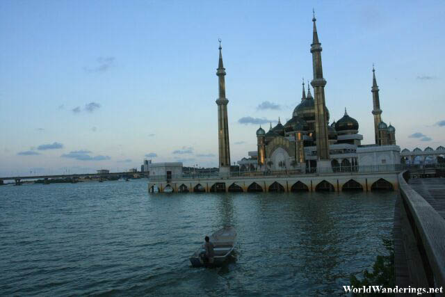 A Look at the Crystal Mosque at Kuala Terengganu