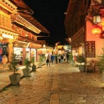 Dukezong Ancient Town 独克宗古城 at Night