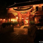 Hotel at Lijiang Ancient Town 丽江古城