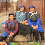 Local Women of Baisha Old Town 白沙