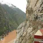 Rugged Terrain at the Upper Tiger Leaping Gorge 虎跳峡