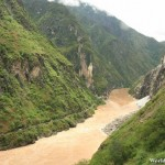 Narrow Gorge of the Tiger Leaping Gorge 虎跳峡