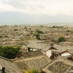 Seeing the Entire Town of Lijiang 丽江古城