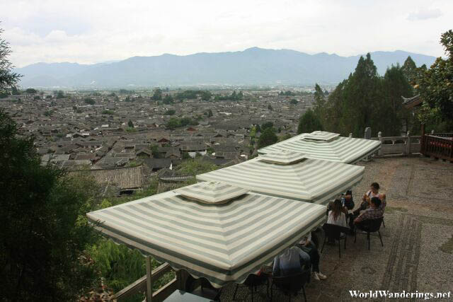Dining In Style Above Lijiang Ancient Town 丽江古城