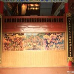 Mural at the Entrance of the Wangu Pavilion 万古楼