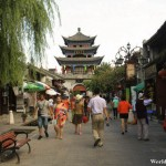 Walking Along Dali Ancient Town's Old Streets