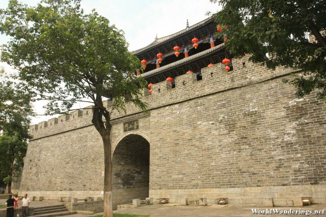 Massive City Gate of Dali Ancient Town 大理古城