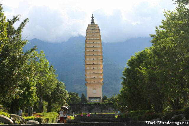 Going to the Three Pagodas 三塔