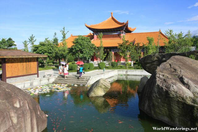 Park Inside the Chongsheng Temple 崇圣寺