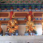 Statues Inside the Hall of the Heavenly King 天王殿