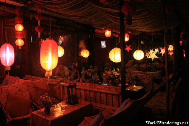 Lovely Lanterns at a Restaurant in Dali Ancient Town 大理古城