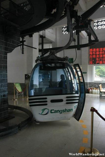 Cable Car at Cangshan Mountain 苍山