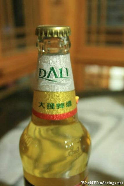 Cold Beer at Dali Ancient Town 大理古城