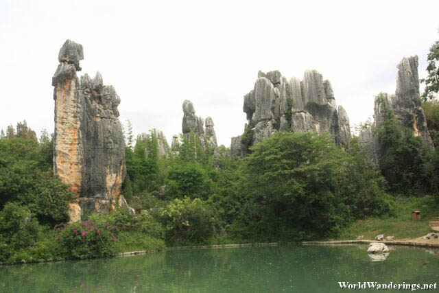 Small Pond at the Minor Stone Forest 小石林