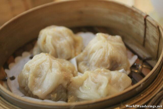 Close Up of Dumplings