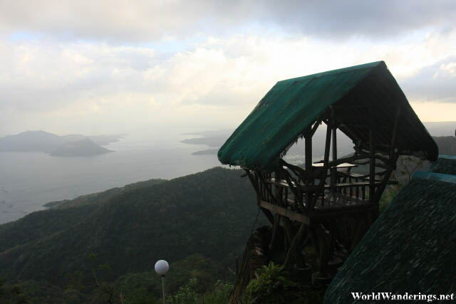 A Nice Hut Overlooking Taal Lake in Tagaytay