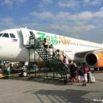 Boarding the Zest Air Flight to Puerto Princesa City