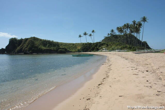 A Look at Calitang Beach