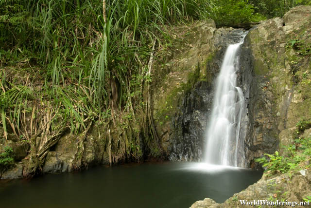 Peacefull Shot of the Bulalacao Falls