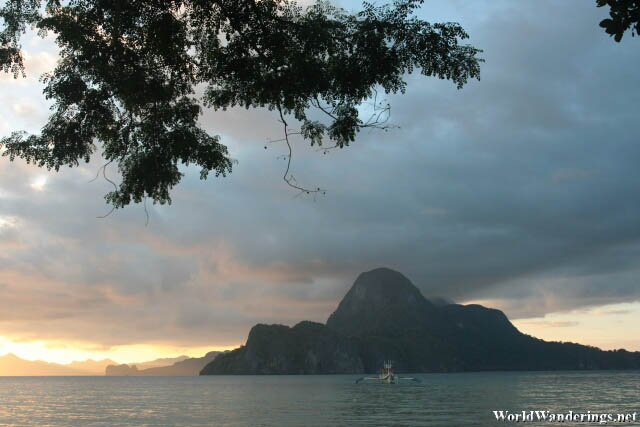 Cadlao Island in the Distance at El Nido