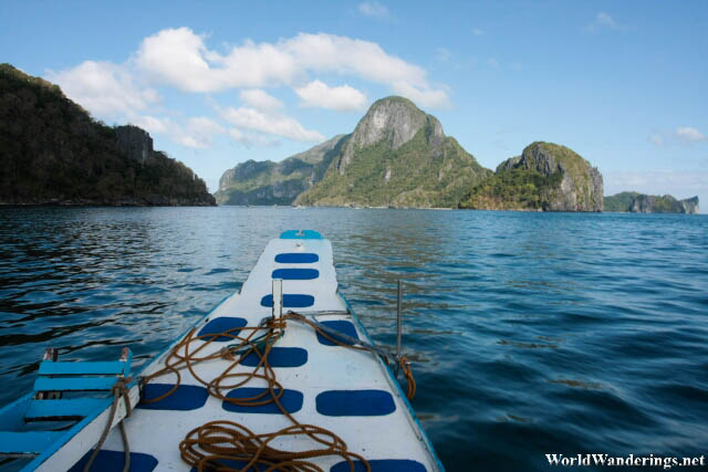 Heading Out to Sea at El Nido