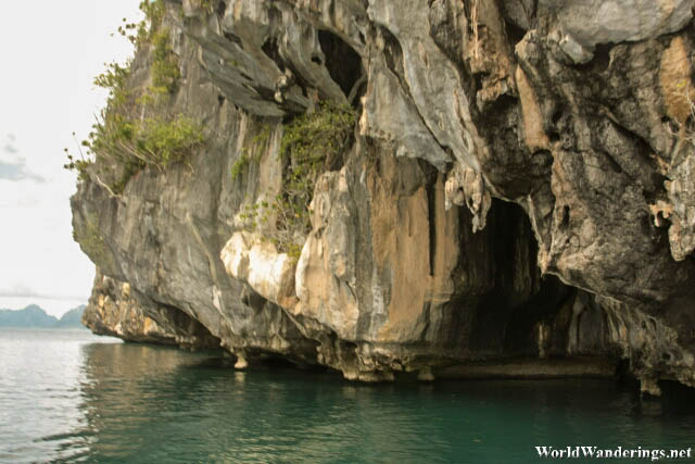 Entrance of Cathedral Cave in El Nido
