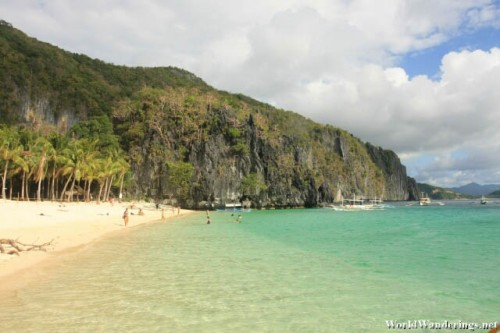 Paradise Sold at Seven Commando Beach at El Nido