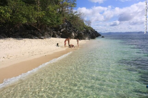 Crystal Clear Waters Here at Ipil Beach in El Nido