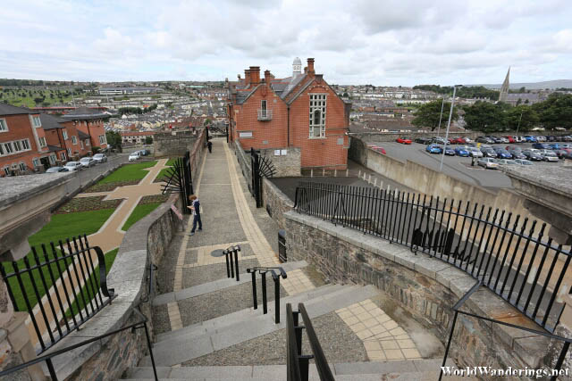 Continuing on the Walls of Derry-Londonderry